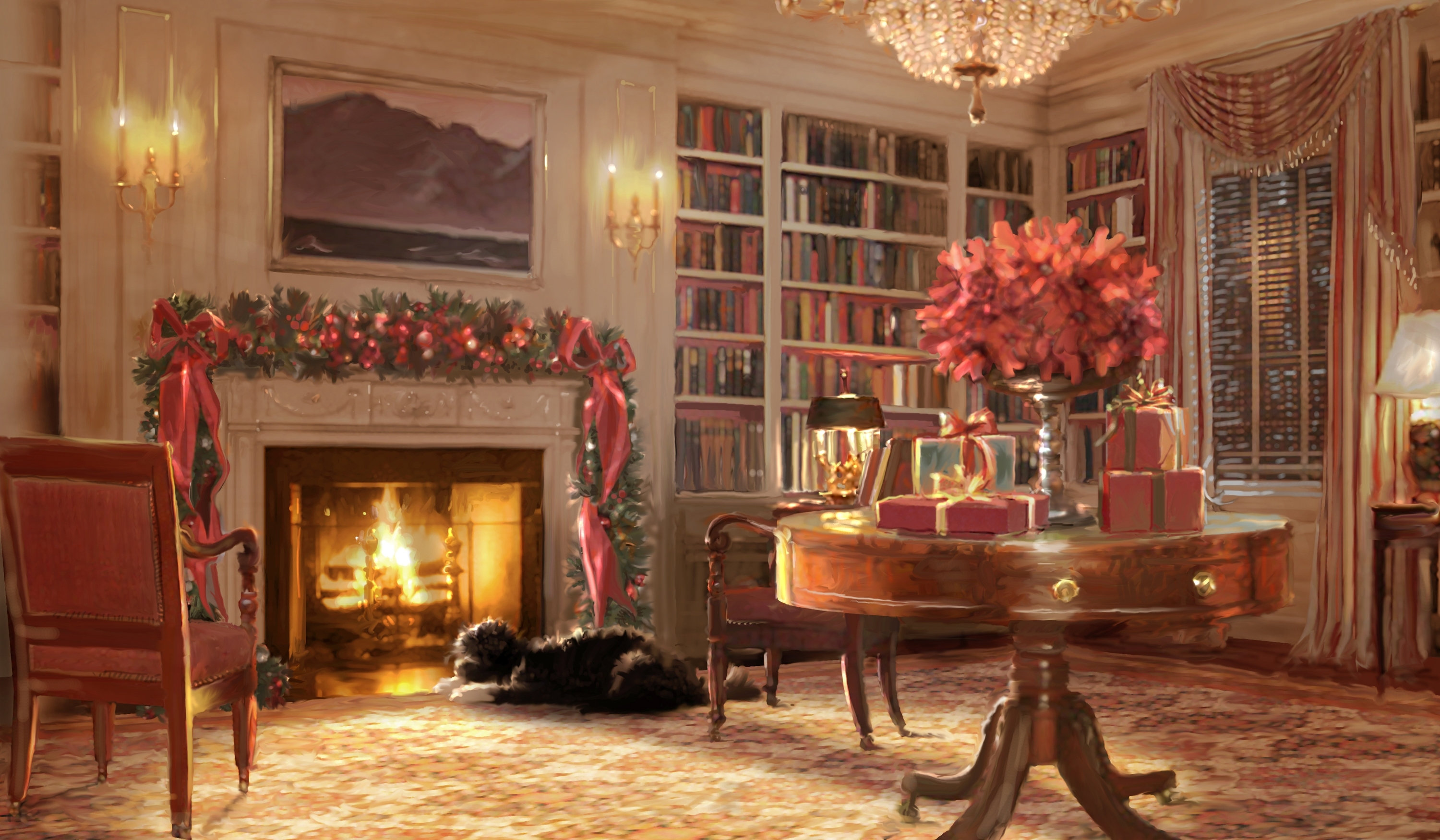 No Christmas in Obama\'s White House Holiday Card- See past Christmas ...