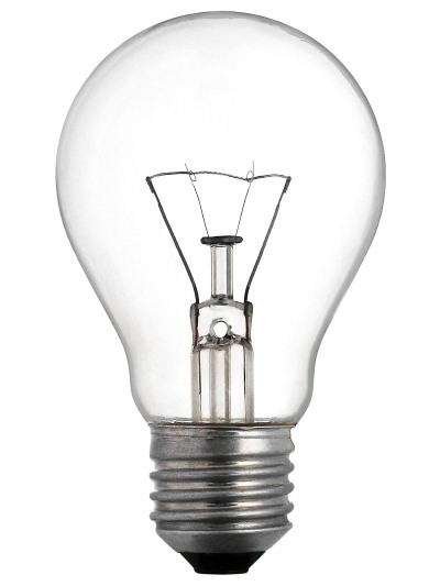 normal light bulb