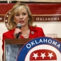 Oklahoma Gov. Mary Fallin proposed slashing state income tax rates this year and eventually phasing out the tax. (Sue Ogrocki / AP)