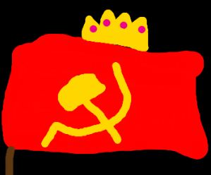 According to the website txcscopereview.com, a lesson plan for 6th graders in government schools reads as follows:Notice socialist/communist nations use symbolism on their flags representing various aspects of their economic system. Imagine a new socialist nation is creating a flag and you have been put in charge of creating a flag. Use symbolism to represent aspects of socialism/communism on your flag. What kind of symbolism/colors would you use?